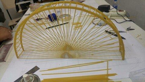 مسابقات بزرگ سازههای ماکارونی