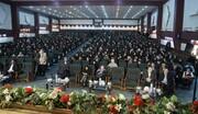 تجلیل از دانش آموزان و دانشجویان ممتاز تحت پوشش انجمن خیریه چهارده معصوم (ع) اهواز