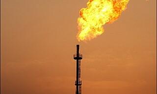 گازهای مشعل در شرکت نفت کارون