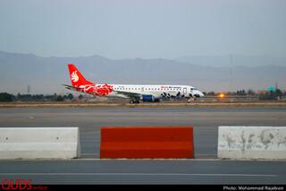 افتتاح مسیر هوایی مشهد_باکو