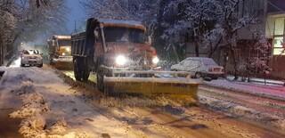 برف روبی سطح شهر
