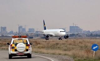 توقف پروازهای فرودگاه