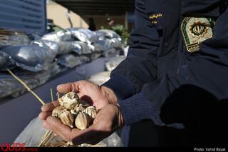 کشف بزرگترین محموله مواد مخدر در خراسان رضوی