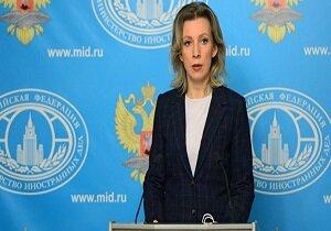 ماریا زاخارووا سخنگوی وزارت خارجه روسیه