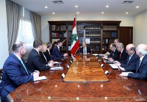 رایزنیهای پارلمانی لبنان
