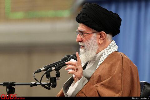 دیدار هزاران نفر از پرستاران با رهبر معظم انقلاب اسلامی