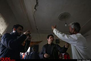 بازید از مناطق زلزله زده خواف - خراسان رضوی