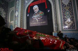 استقبال میلیونی مردم مشهد از پیکر «شهید سپهبد قاسم سلیمانی» و یاران شهیدش(1)