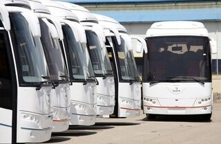 30 دستگاه اتوبوس