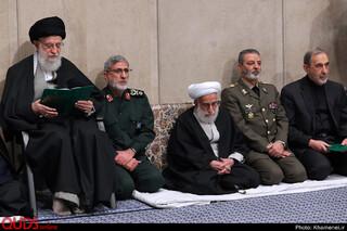مراسم بزرگداشت سپهبد شهید قاسم سلیمانی در حسینیه امام خمینی (ره)