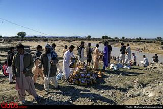 """سیل در منطقه""""دشتیاری"""" سیستان و بلوچستان"""