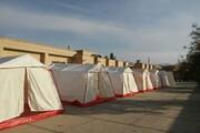 ۲۵۰ دستگاه چادر امدادی از  بهاباد یزد به مناطق سیل زده کرمان ارسال شد