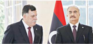 طرفین درگیر در لیبی