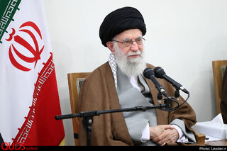 دیدارستاد کنگره شهدای بوشهر با رهبر انقلاب