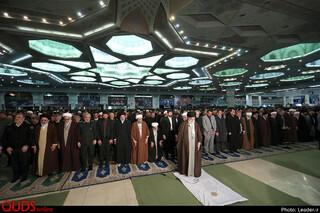 نماز جمعه تهران به امامت مقام معظم رهبری