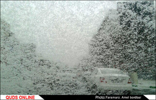 بارش برف / باریدن برف