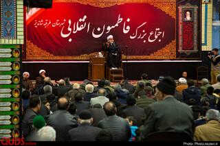 سخنرانی تولیت آستان قدس رضوی در اجتماع بزرگ فاطمیون انقلابی