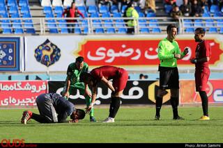 دیدار تیم های شهر خودرو و ماشین سازی تبریز