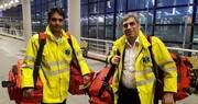 اورژانس تهران برای مقابله با کرونا در فرودگاه امام مستقر شد