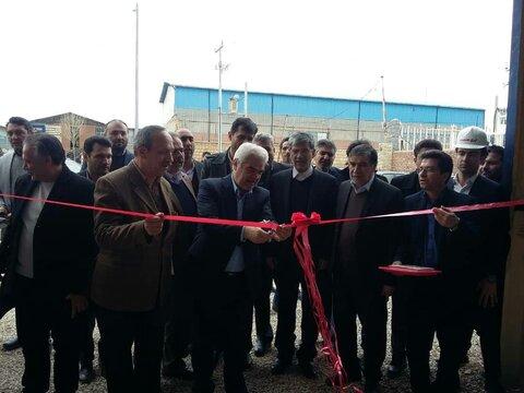 وزیر صمت و افتتاح پروژه