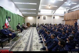 دیدار فرماندهان، مسئولین و کارکنان نیروهای چهارگانه ارتش با نماینده ولی فقیه خراسان رضوی