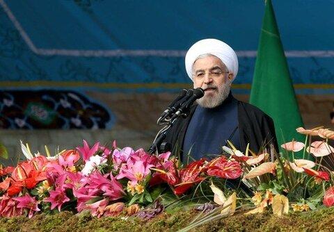 سخنران حسن روحانی روز 22 بهمن