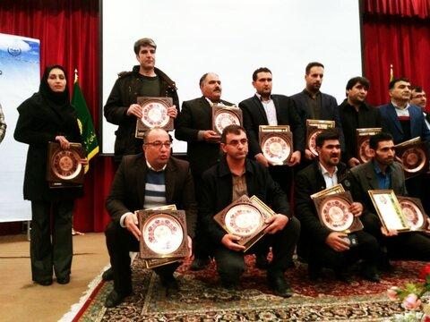 تجلیل از کشاورزان نمونه استان زنجان