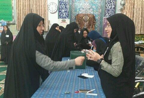 مردم خراسان شمالی پای صندوق های رای حاضر شدند