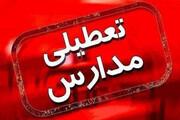 مدارس استان همدان در تمامی مقاطع تحصیلی تعطیل شد