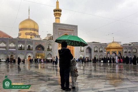 بارش باران در حرم - اصلاح شده
