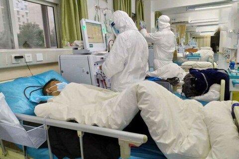 بیماران مبتلا به کرونا در بیمارستان