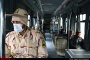 کاهش خطوط اتوبوس مشهد  در صورت رعایت نکردن استفاده شهروندان از ماسک/ استفاده از ماسک از امروز در ناوگان قطار شهری و اتوبوسرانی اجباری است