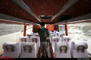 ضد عفونی و اقدامات پیشگیرانه در پایانه مسافربری مشهد