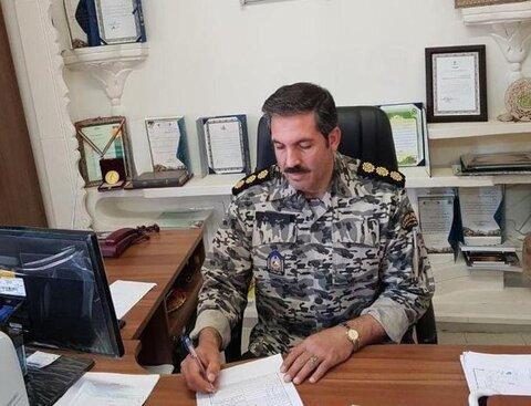 فرمانده یگان حفاظت از اراضی راه و شهرسازی همدان