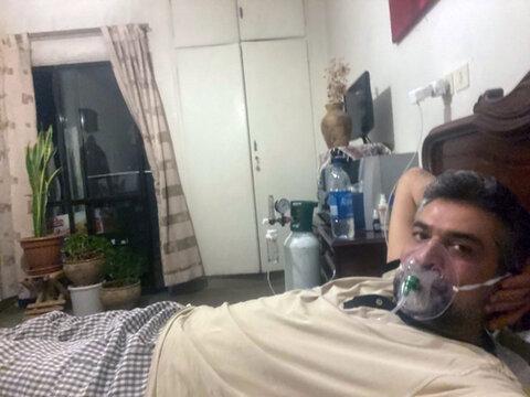 دکتر کرمانپور - مبتلا به کرونا