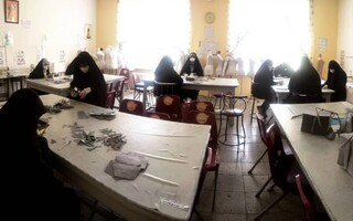 دانش آموزان بسیجی مشهد