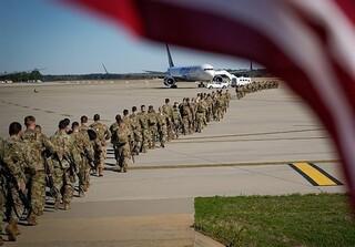 خروج نیروهای آمریکا