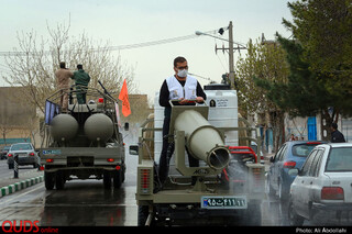 رزمایش سراسری دفاع بیولوژیک در مشهد