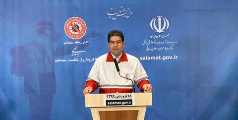 کریم همتی رئیس جمعیت هلال احمر