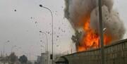 لحظه انفجار در کارخانه فشفشه سازی ترکیه (فیلم)
