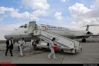 فرودگاه مشهد پس از شیوع کرونا