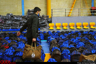 Ax Vahid Bayat, [۱۷.۰۴.۲۰ ۱۸:۱۴] آمادهسازی ۱۵۰ هزار بسته غذایی ویژه نیازمندان حاشیه شهر مشهد