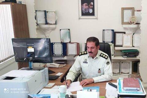 فرمانده یگان حفاظت ازاراضی ملی راه وشهرسازی استان همدان
