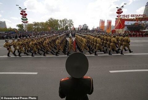رژه در بلاروس