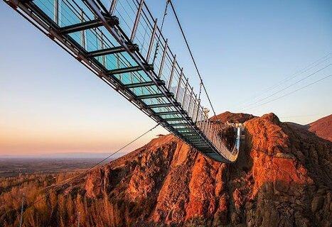 پل شیشه ای ایران