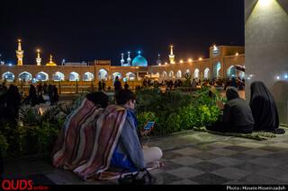 مراسم احیای شب بیست و یکم ماه مبارک رمضان در حریم مطهر رضوی