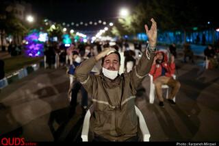 مراسم احیاء شب نوزدهم رمضان در خیابان های مشهد