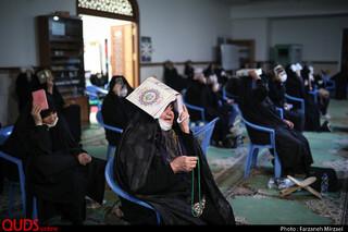 مراسم احیاء شب بیست و سوم رمضان در خیابان های مشهد
