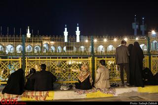 مراسم احیای شب بیست و سوم ماه مبارک رمضان در حریم مطهر رضوی