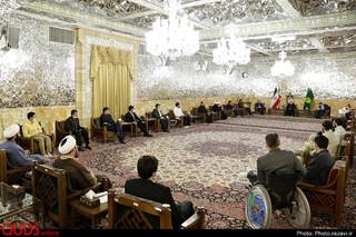 دیدار تشکلهای مردمی فعال در رزمایش مواسات مشهد با تولیت آستان قدس رضوی